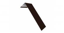 Металлические доборные элементы для фасада в Дмитрове Планка лобовая/околооконная простая 190х50